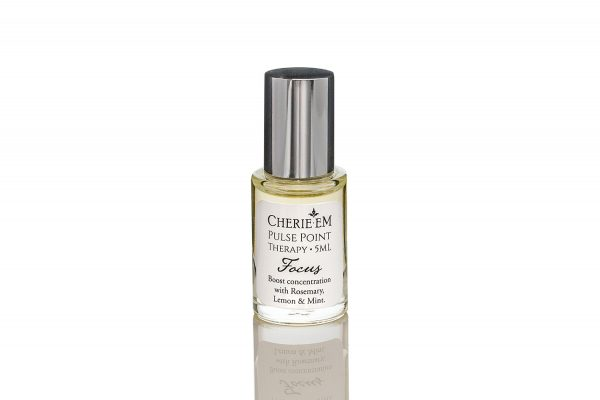 Focus, Pulse Point Therapy made from essential oils that help you to improve focus.